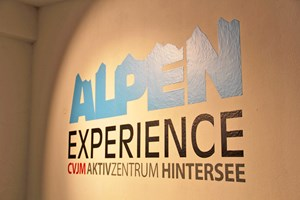 CVJM Aktivzentrum Hintersee Medienwand Rezeption